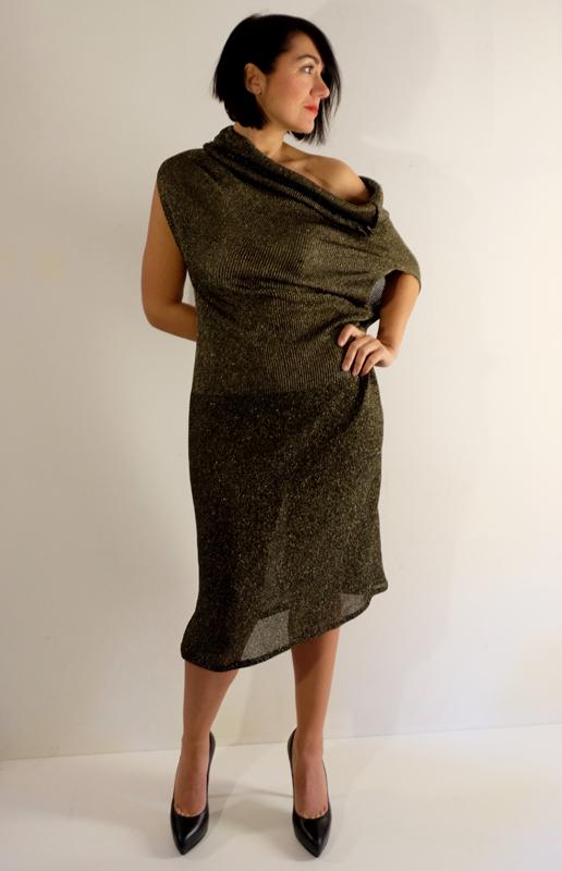 ABITO VALENTINA<br /> realizzata sartoriale in maglia di lana